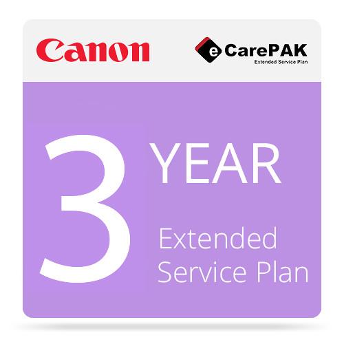 Canon 3-Year eCarePAK Extended Service Plan for imageCLASS LBP612Cdw (Tier 2E)