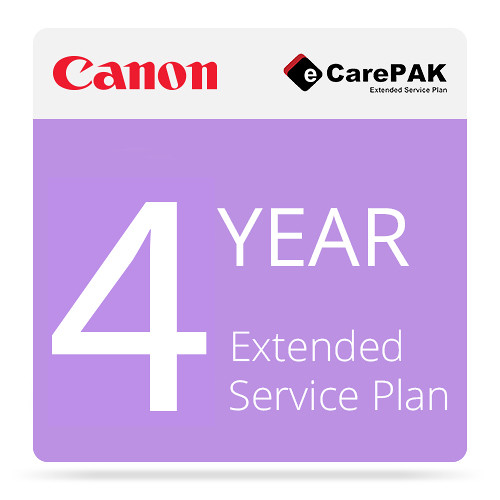 Canon 4-Year eCarePAK Extended Service Plan for imageCLASS LBP612Cdw (Tier 2E)