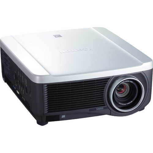 Canon SX6000 REALiS Pro AV LCOS Projector with Standard Zoom Lens