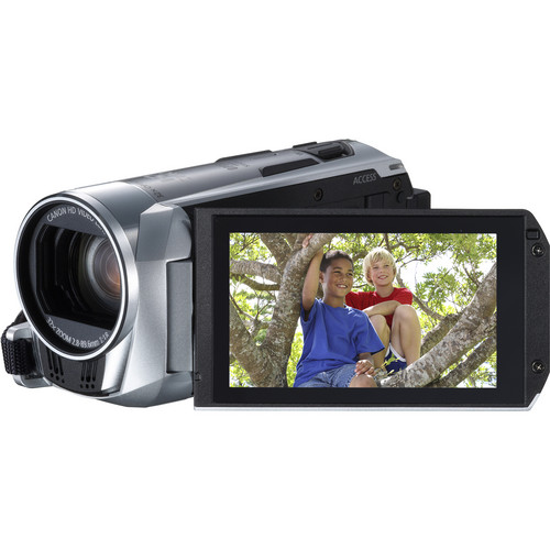 Canon Legria HF R306 Full HD Camcorder with Media Card Slot (PAL, Silver)