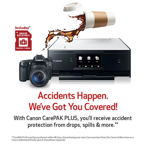 Canon CarePAK PLUS Accidental Damage Protection for Inkjet Multi-Function Printers (2-Year, $450-$499.99)