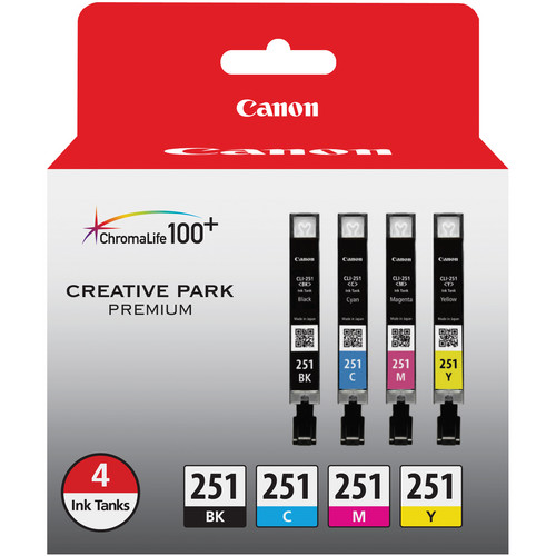 Canon CLI-251 4-Cartridge Ink Set