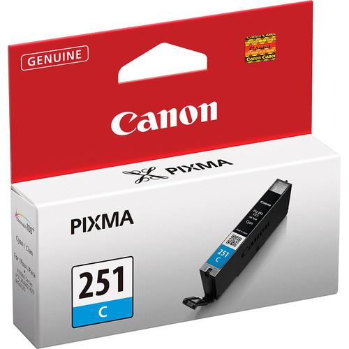 Canon CLI-251C Standard Capacity Cyan Ink Tank
