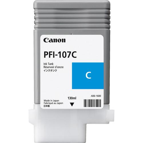 Canon PFI-107C Cyan Ink Cartridge (130 ml)