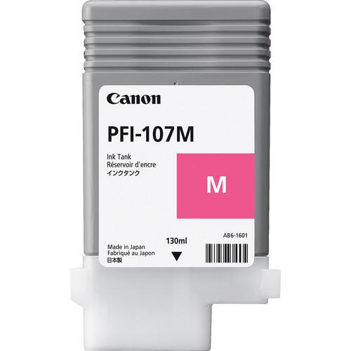 Canon PFI-107M Magenta Ink Cartridge (130 ml)