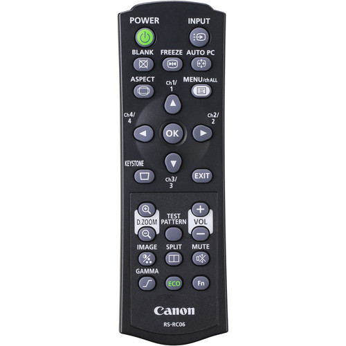 Canon LVRC06 Remote Controller for LV Series Projectors