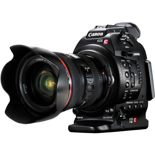 Canon EOS C100 Cinema EOS Camera with Dual Pixel CMOS AF and 24-105mm f/4L Lens