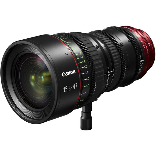 Canon PL-Mount CN-E 15.5-47mm f/2.8 L SP/MOD Digital Cinema Zoom Lens with EF-Mount Conversion Parts