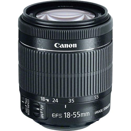 Canon EF-S 18-55mm f/3.5-5.6 IS STM Lens (White Box)