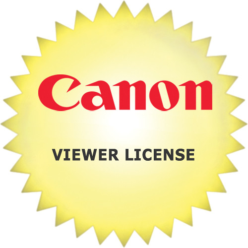 Canon RM-Viewer v2.0 License for RM-64, RM-25, RM-9 Network Video Recording Software