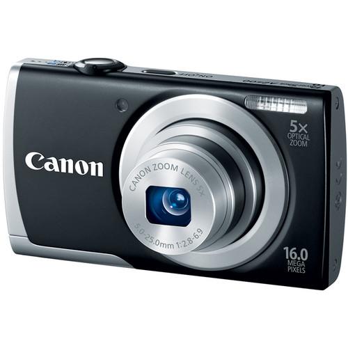 Canon PowerShot A2500 Digital Camera (Black)