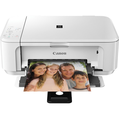 Canon PIXMA MG3520 Wireless Color All-in-One Inkjet Photo Printer (White)