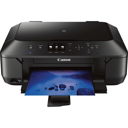 Canon PIXMA MG6420 Wireless Color All-in-One Inkjet Photo Printer (Black)