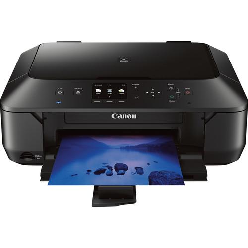 Canon PIXMA MG6420 Wireless Color All-in-One Inkjet Photo Printer (Black)