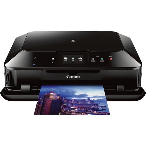 Canon PIXMA MG7120 Wireless Color All-in-One Inkjet Printer (Black)