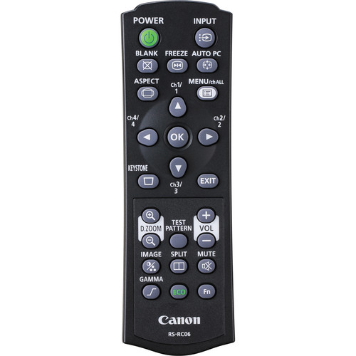 Canon RS-RC06 Remote Controller for REALiS Pro AV Projectors