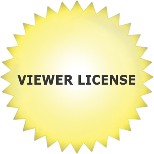 Canon 1 Viewer License for RM-64, RM-25, RM-9 (Download)