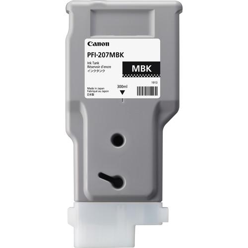 Canon PFI-207MBK Matte Black Ink Cartridge (300 ml)