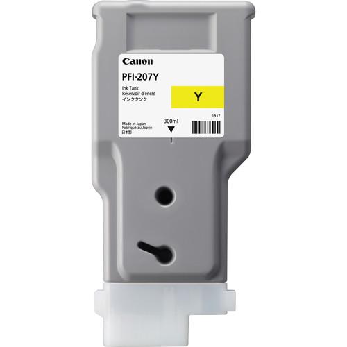 Canon PFI-207Y Yellow Ink Cartridge (300 ml)