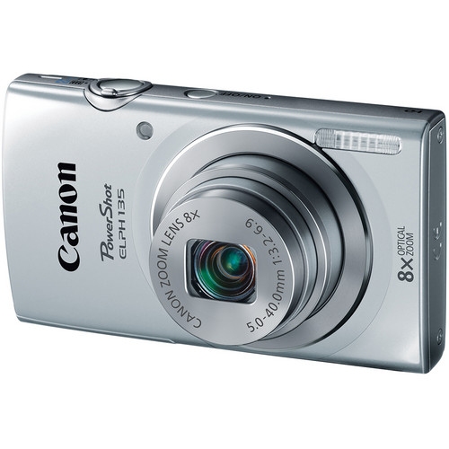 Canon PowerShot ELPH 135 (Silver)