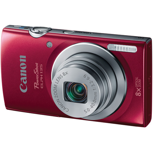 Canon Canon PowerShot ELPH 135 (Red)