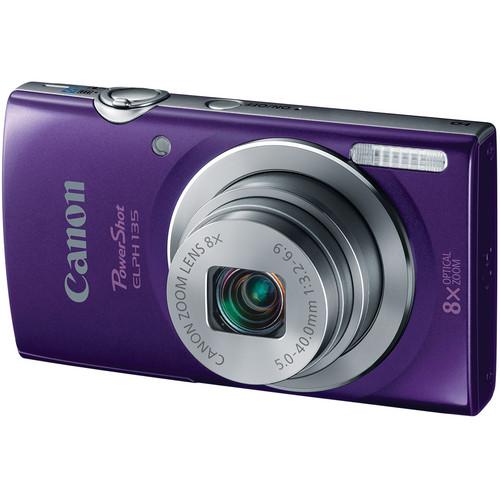 Canon Canon PowerShot ELPH 135 (Purple)