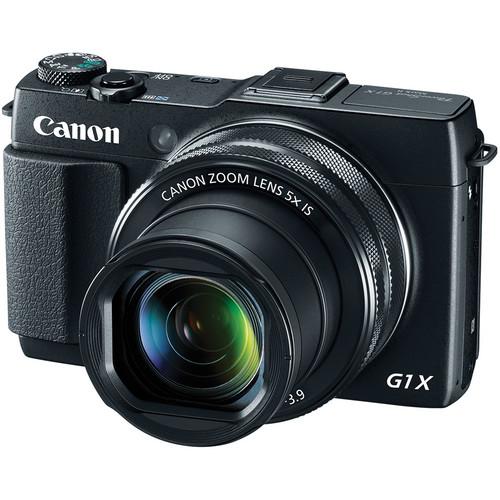 Canon PowerShot G1 X Mark II Digital Camera with Flash Kit