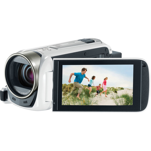 Canon Vixia HF R500 Full HD Camcorder (White, Refurbished)