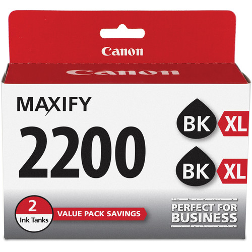 Canon PGI-2200XL Black Ink Cartridge (2-Pack)