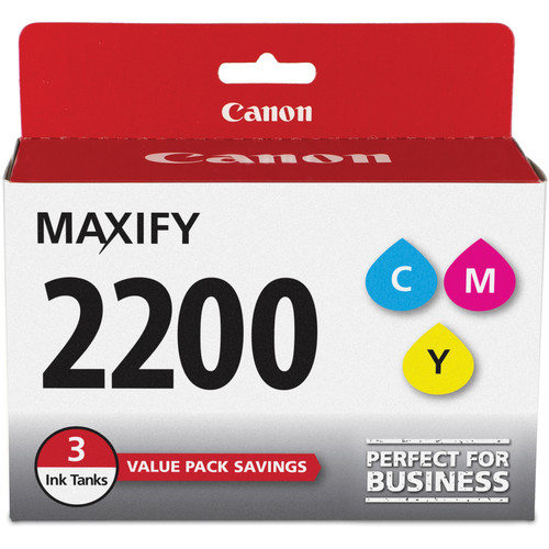 Canon PGI-2200 CMY Ink Cartridge Pack