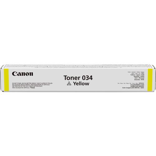 Canon 034 Yellow Toner Cartridge