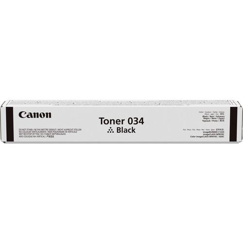 Canon 034 Black Toner Cartridge