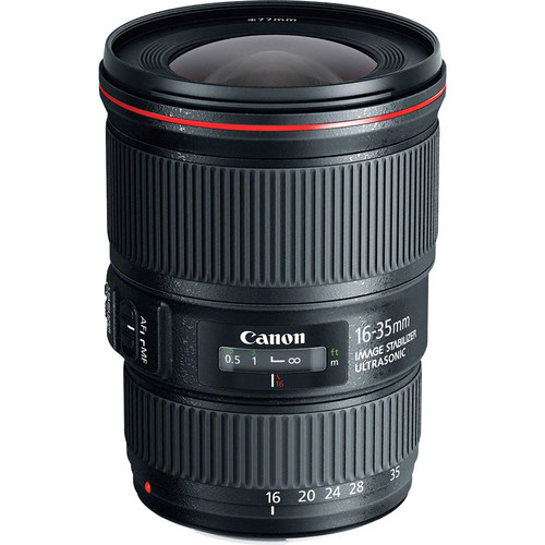 Canon EF 16-35mm f/4L IS USM Lens
