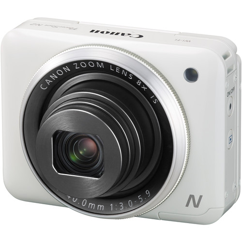 Canon PowerShot N2 Digital Camera (White)