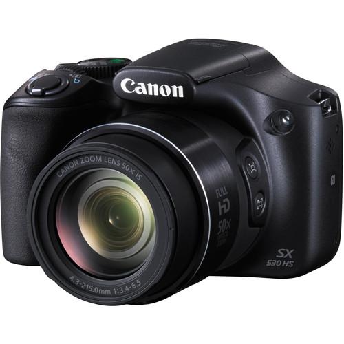 Canon PowerShot SX530 HS Digital Camera (Refurbished)