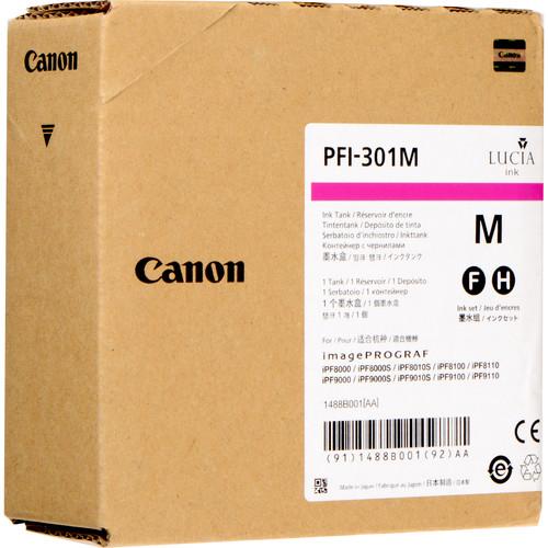 Canon PFI-307M Magenta Ink Cartridge (330 mL)