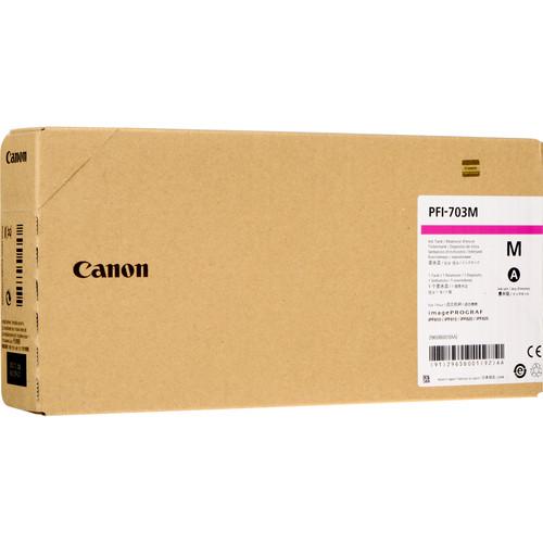 Canon PFI-707M Magenta Ink Cartridge (700 mL)