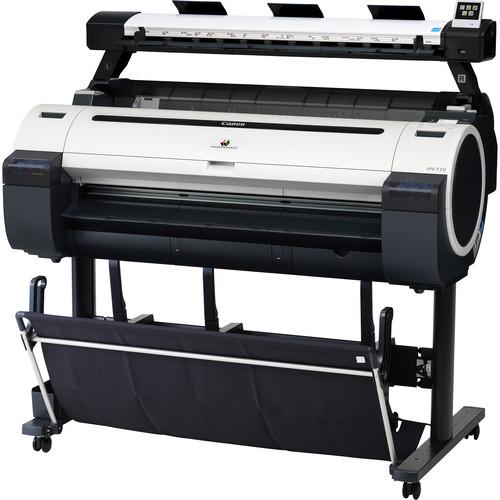 "Canon imagePROGRAF iPF770 36"" Large-Format Inkjet Printer with L36ei Scanner"
