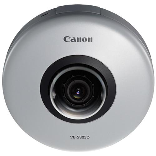 Canon VB-S805D 1.3MP Network Indoor Micro-Dome Camera
