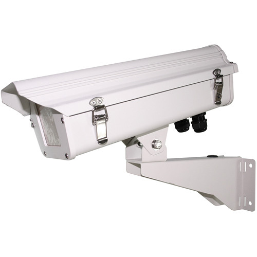 Canon A-OH15FBHSET-S(OW) Outdoor Housing with Stainless Steel Wall Bracket (Off-White)