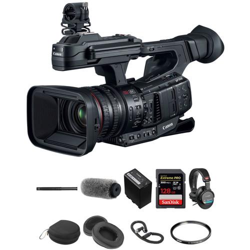 Canon Brave Wilderness XF705 4K Camcorder Bundle