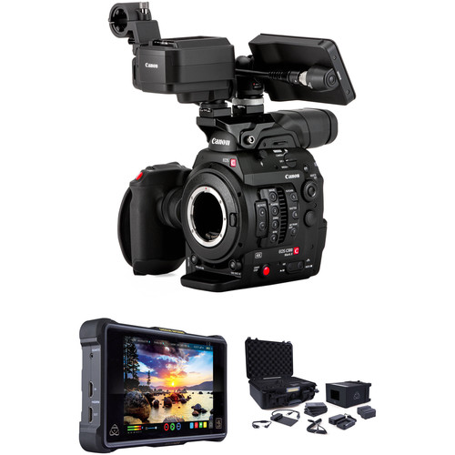 """Canon C300 Mark II Body with Touch Focus and 7"""" Atomos Monitor (EF Mount)"""