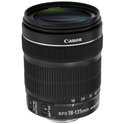 Canon EF-S 18-135mm f/3.5-5.6 IS STM Lens (White Box)