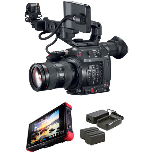 Canon EOS C200 Kit with 24 to 105mm Zoom and Atomos Ninja Flame