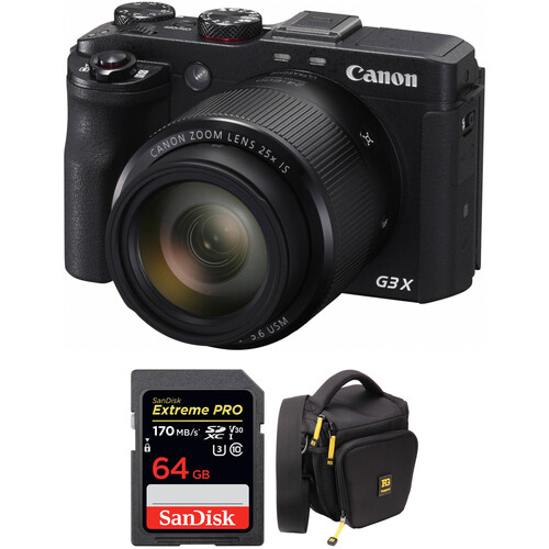 Canon PowerShot G3 X Digital Camera with Free Accessory Kit
