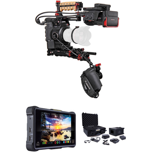 Canon C300 Mark II ProRes RAW Atomos Kit with Z-Finder & Accessory Kit (EF Mount)