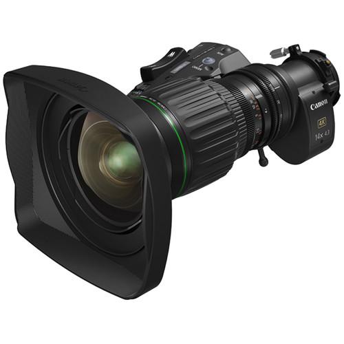 """Canon CJ14EX4.3 IASE 4K UHD 2/3"""" 14X Portable Lens"""