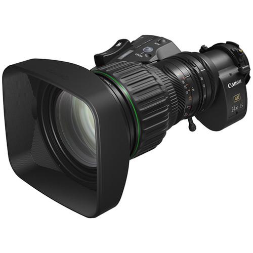 """Canon CJ24EX7.5 IASE 4K UHD 2/3"""" Portable Lens"""