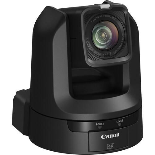 Canon CR-N300 4K NDI PTZ Camera with 20x Zoom (Satin Black)