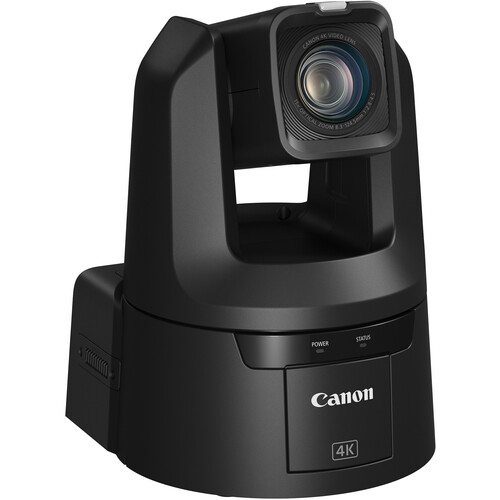 Canon CR-N500 Professional 4K NDI PTZ Camera with 15x Zoom (Satin Black)